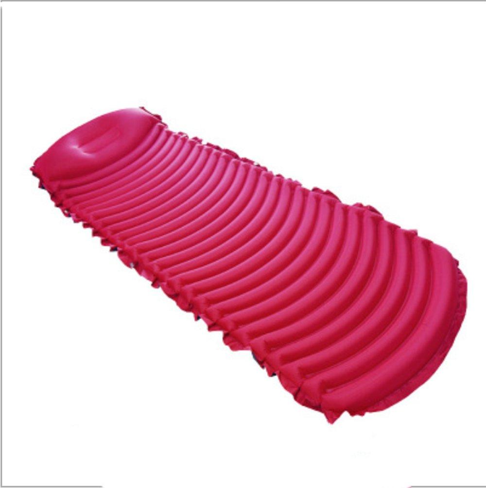 YMXLJJ Ultraleichtes Luftbett TPU Feuchtigkeitsfest Im Freien, Mittagspause, Camping Luftpolster, Insufflation - Mund Oder Luftpumpe Mit Kissen