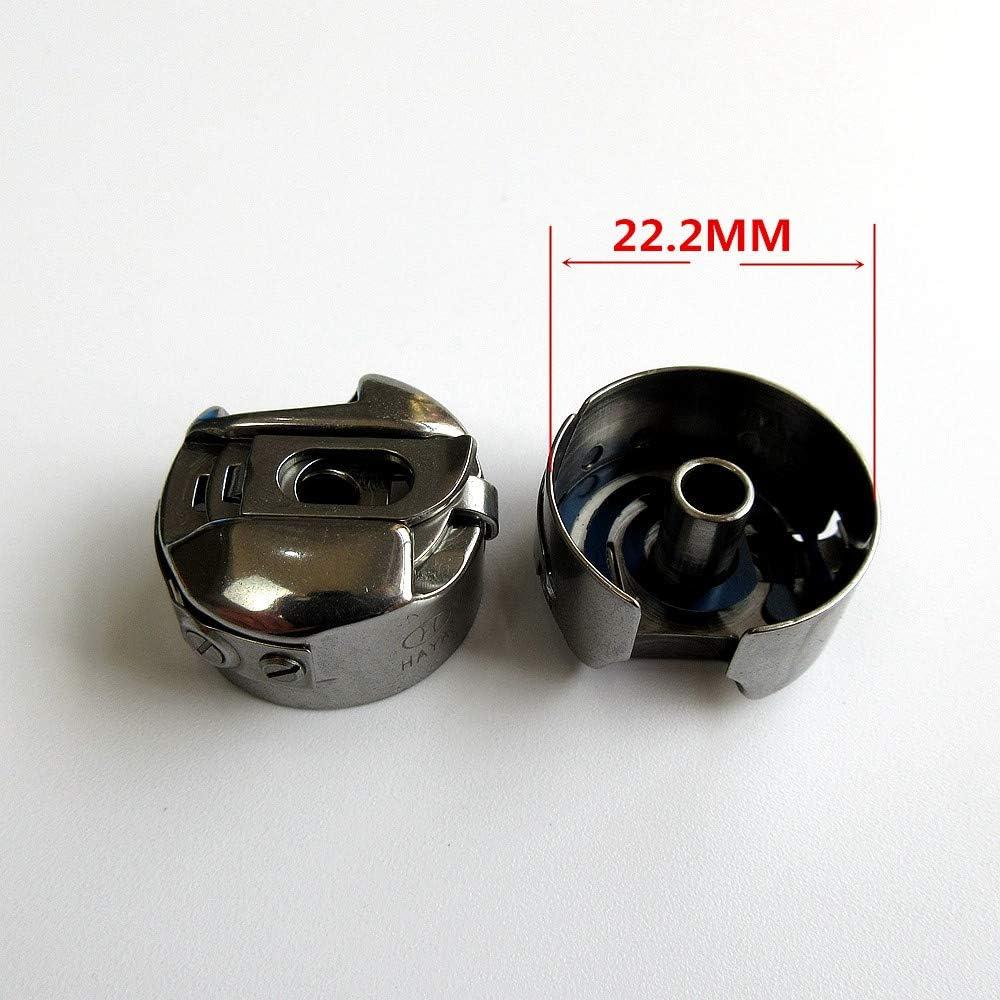 2 St/ück Spulenkoffer f/ür Pfaff 6230 6232 6250 6252 6270 7510 7530 Select 3.0 4.0