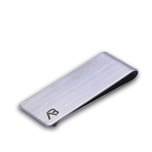 Amazon.com  ALASKA BEAR - Classic Silver Cash Money Clip Credit Card ... ea9f1d285a89