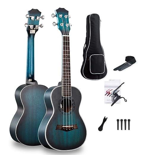 BAIYING-Guitarra Acústica Ukelele Fácil De Aprender Principiante ...
