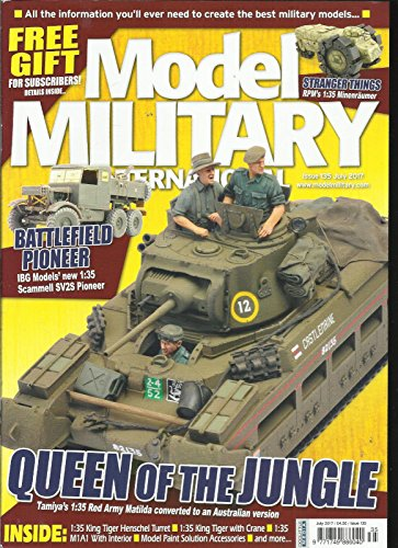 MODEL MILITARY INTERNATIONAL, JULY, 2017 ISSUE, 135 QUEEN OF THE JUNGLE ()