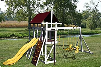 Amazoncom Backyard Jungle Gym Explorer Level Garden Outdoor - Backyard jungle gyms