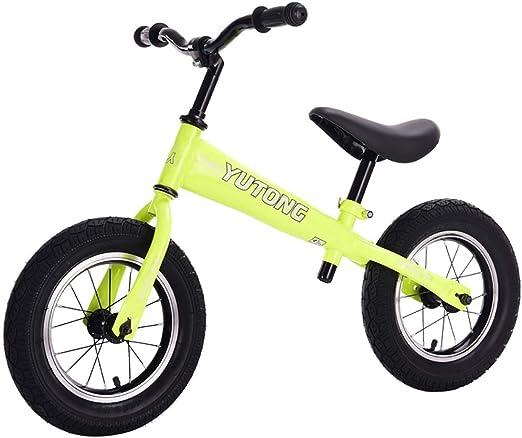 Bicicletas sin pedales Bicicleta para niños, niños Equilibrio ...