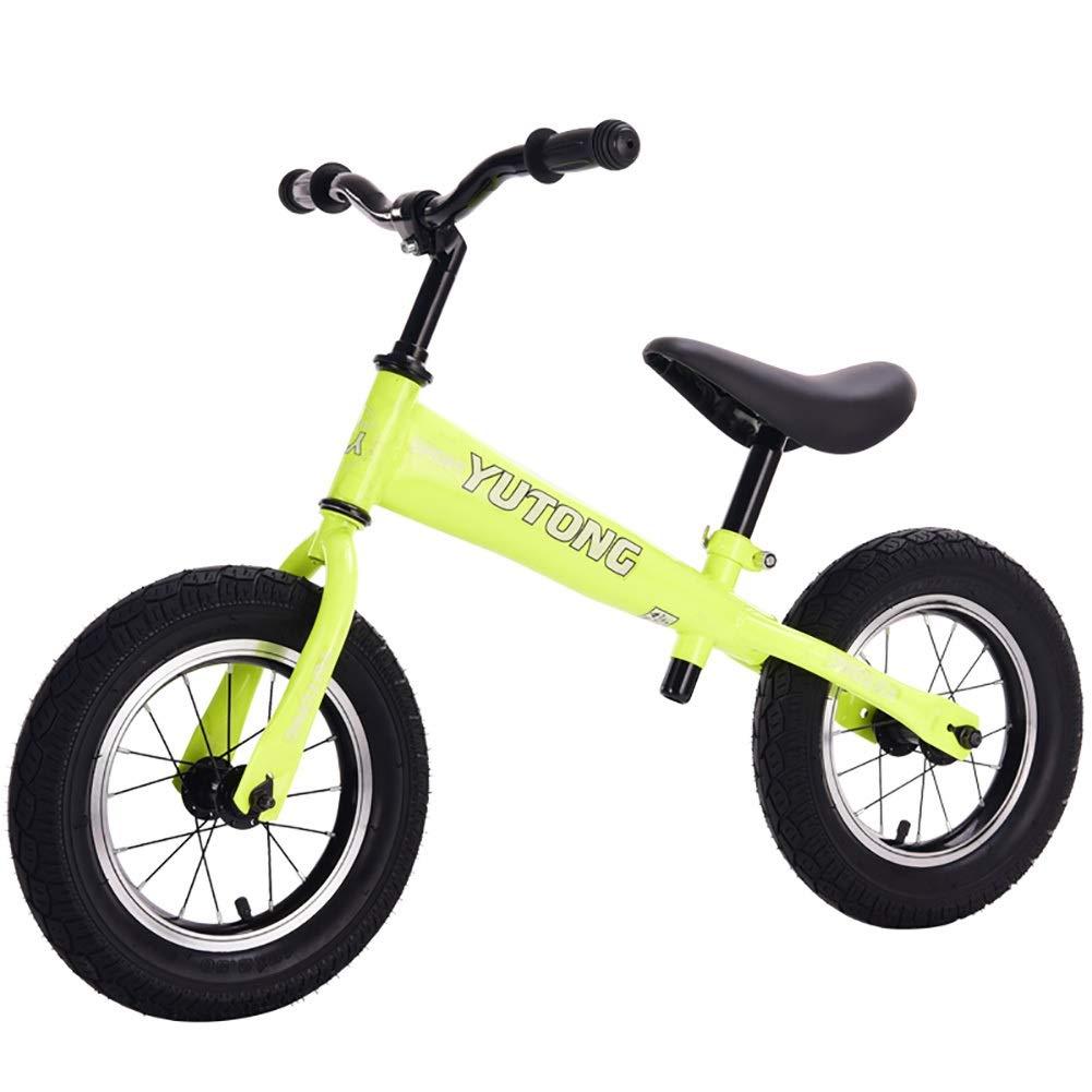Biciclette senza pedali Ragazzi per Bambini Equilibrati in Metallo per Bimbi in Metallo Che corrono in Bicicletta da Passeggio, età 2+ (colore   Style3)