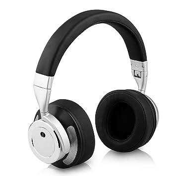 Auriculares Inalambricos Bluetooth, Fuleadture Bluetooth 4.0 para áuriculares estéreo reducción de ruido Música Over-oreja sonido ...