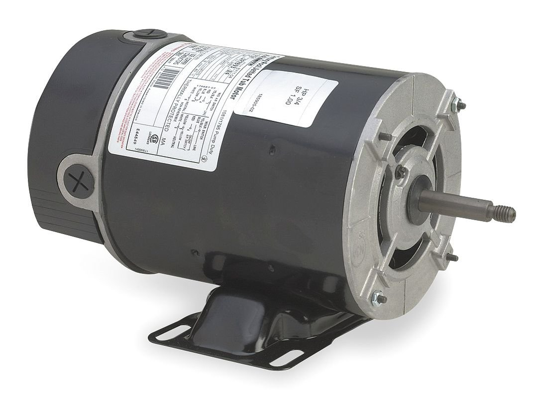 AO Smith/Century Electric Above Ground, 0.5HP, 3450RPM, 115V, 7 AMPS, 1SERVICE FACTOR, Through Bolt FLANGE