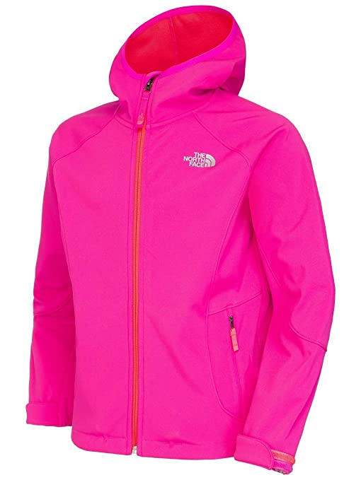 The Face Rosa Softshell North Jacket Niños Chaqueta Girls azalea 1rw1q4