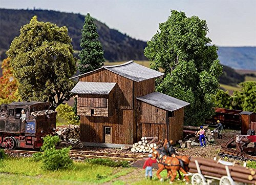 Faller 120270 Murtal Timber Storage Shed HO Scale Building Kit - Ho Scale Timber