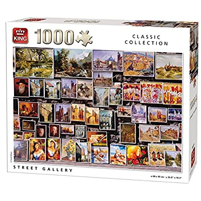 King 5121 Street Gallery Puzzle 1000 Pezzi