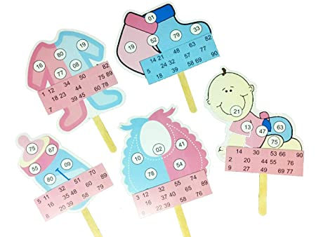 BabyShower Themed Tambola Tickets Made by Smriti Singhania (15pc Set) Ideal for Parties