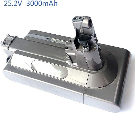7xinbox 25.2V 3000mAh Batería de Repuesto para Dyson V10 SV12 ...