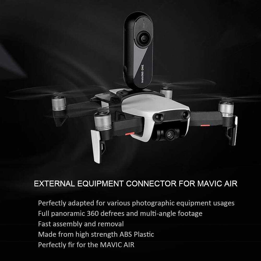 Accessories Compatible for DJI Mavic AIR Drone External Equipment Connector,Photographic Equipent Camear Adapter