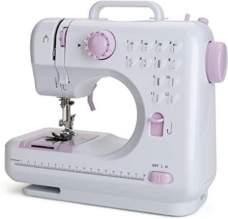 US Sewing Machine Electric 12 Stitches Household Craft Mending for Beginners US