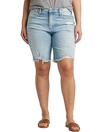 ec53607529 Women's Plus Size Frisco High-Rise Vintage Knee Short