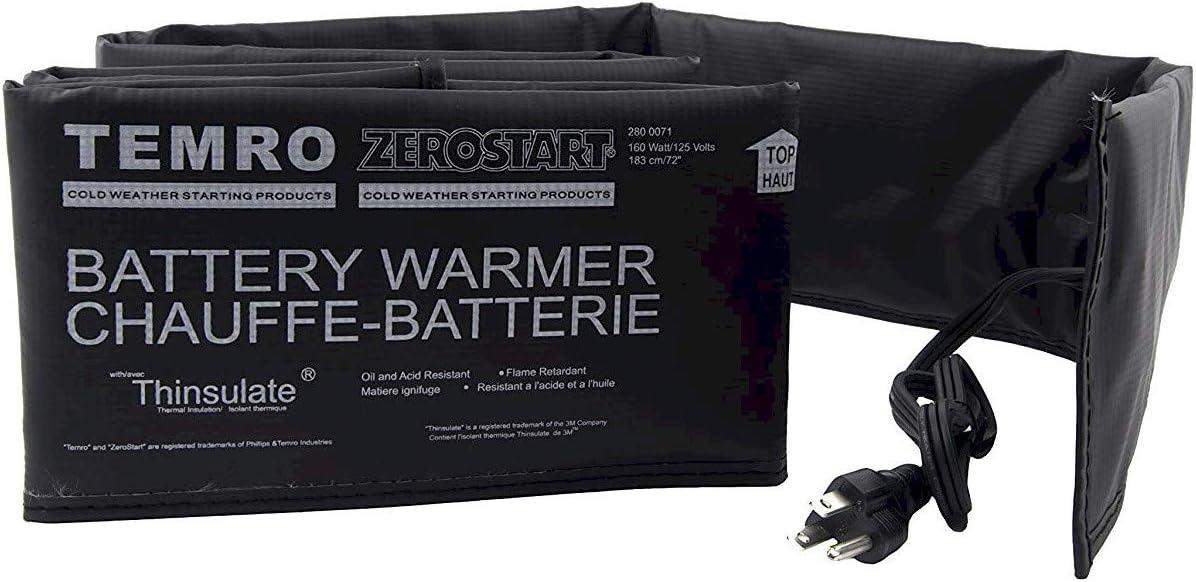 Zerostart 2800063 Electric Blanket Battery Heater Wrap, 36-Inch | 120 Volts | 80 Watts