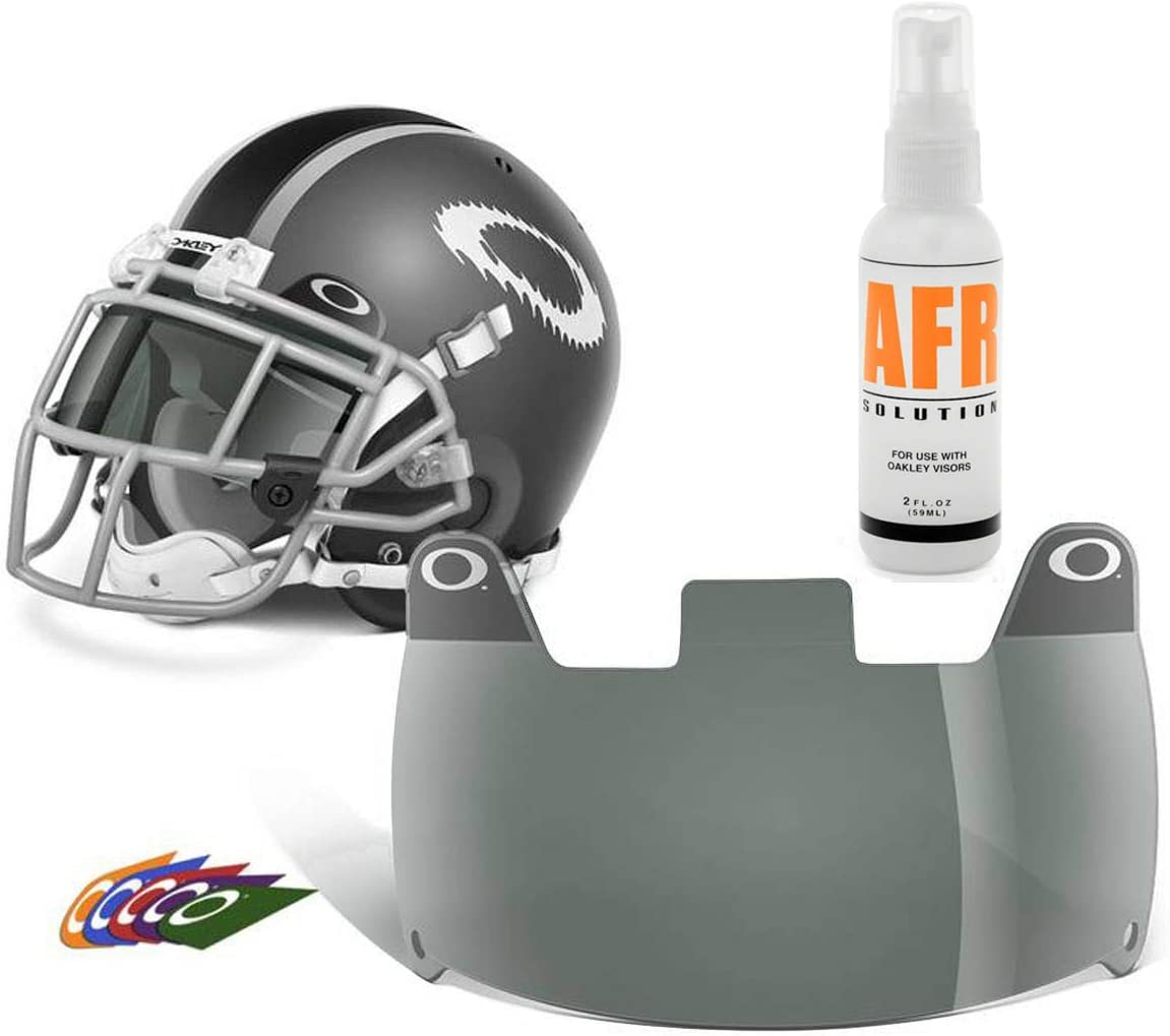 FREE SHIPPING Under Armour Adult Football Visor Gray