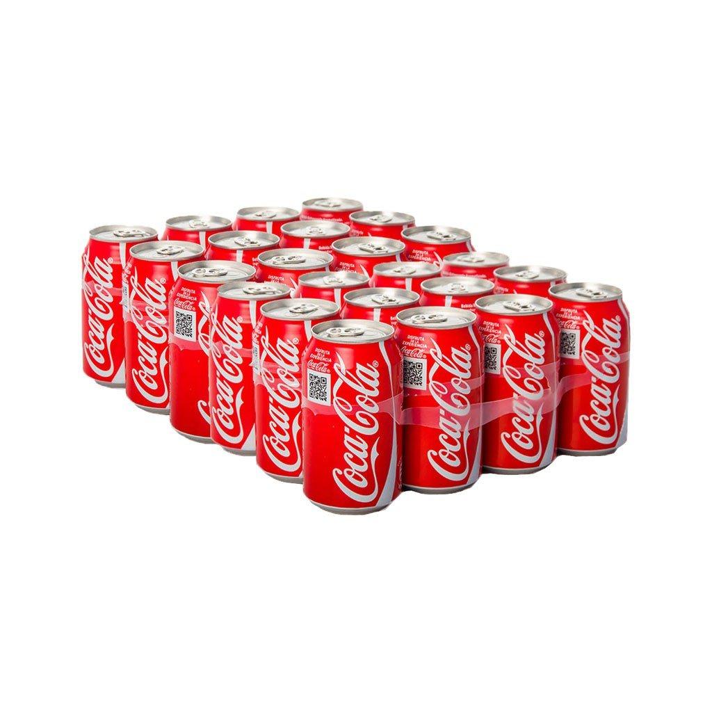 Coca Cola Bebida Refrescante - Paquete de 24 x 13.75 ml - Total ...