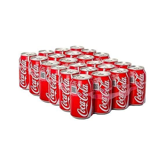 Coca Cola Bebida Refrescante - Paquete de 24 x 13.75 ml - Total: 330 ml