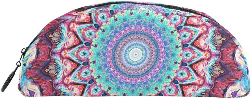 Gukenz Hippie - Estuche para lápices, diseño de mandala bohemio: Amazon.es: Oficina y papelería
