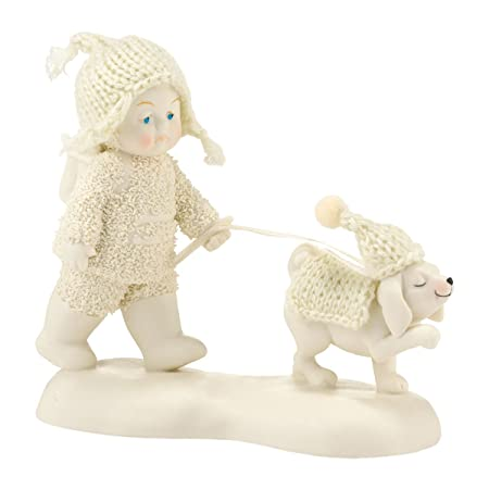 Department 56 Snowbabies Dog Days of Winter Porcelain Figurine, 4.5
