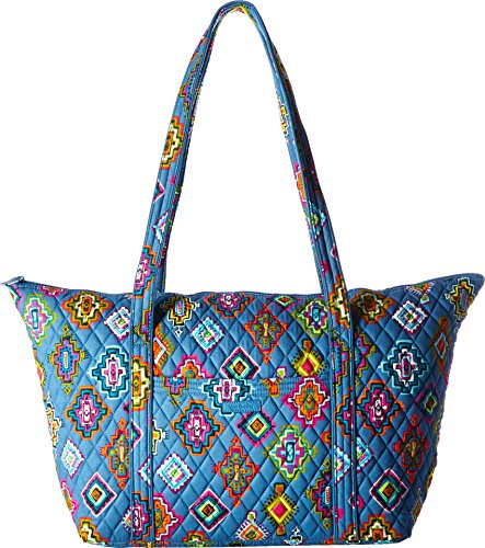 Medallion Travel Bag (Vera Bradley Luggage Women's Miller Bag Painted Medallions Handbag)