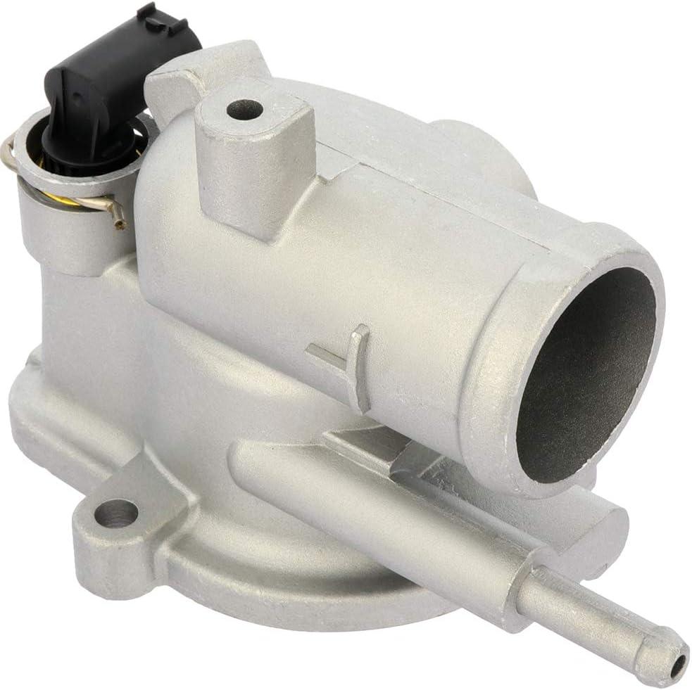 OCPTY Thermostat Housing Assembly Engine Coolant Thermostat Fit For 2003-2006 Dodge Sprinter 2500,2003-2006 Dodge Sprinter 3500 5080146AB