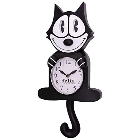 Felix The Cat Motion Clock