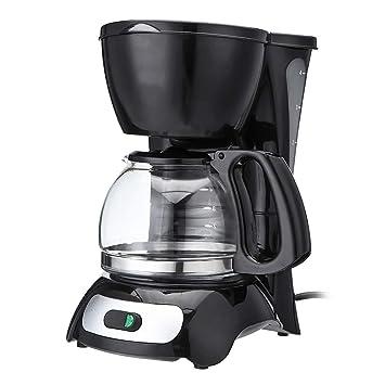 Amazon.com: ZUN 650 W 4 tazas eléctrica cafetera eléctrica ...