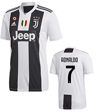 finest selection 9a16c ea485 Amazon.com: Juventus Ronaldo Home Jersey 2018/19 Original ...