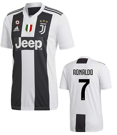 3f625194be6c7 Amazon.com  Juventus Ronaldo Home Jersey 2018 19 Original Product  Clothing