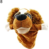 FnieYxiu Plush Dolls, Stuffed Toys Cartoon Animals Monkey Dog Lion Stuffed Plush Hand Puppet Xmas Kid Children Gift