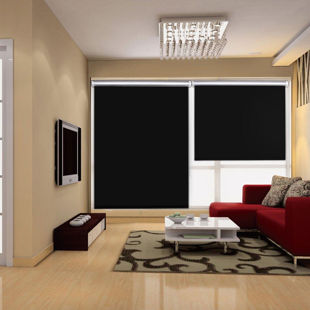 Auralum® Rollo (Breite und Höhe) 80 x 175cm für Fenster Tür ohne ...
