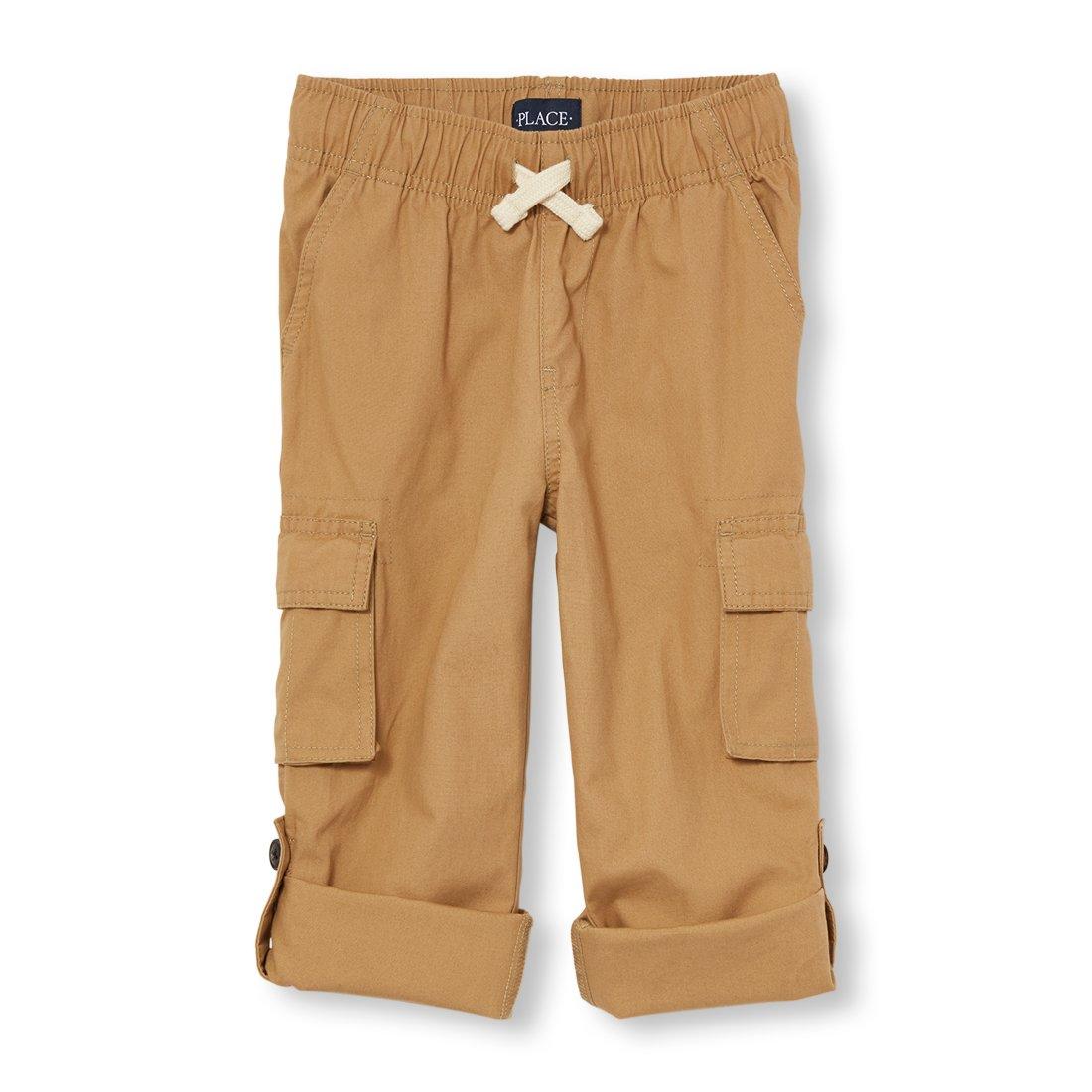The Children's Place Big Boys' Jogger Pants, Flax 4141, 5
