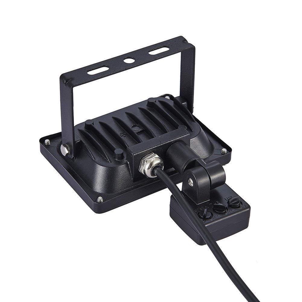 Garaje Led Floodlight para Exterior Iluminaci/ón Decoraci/ón/IP 65 Bodega y Patio 20w Led Foco Proyector,Foco sensor de movimiento 6000K Blanco Fr/ío,L/ámpara para Jard/ín