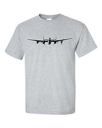 Lancaster bomber wwii t shirt amazon clothing malvernweather Choice Image