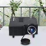 Fosa UC28+ Mini Pico Projector Home Cinema Theater Digital 1080P HD LED LCD Portable Projector Support PC&Laptop VGA/USB/SD/AV/HDMI Input Multimedia Projector