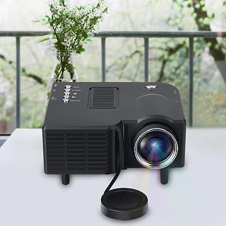 Amazon.com: Proyector de vídeo, proyector LCD portátil Fosa ...