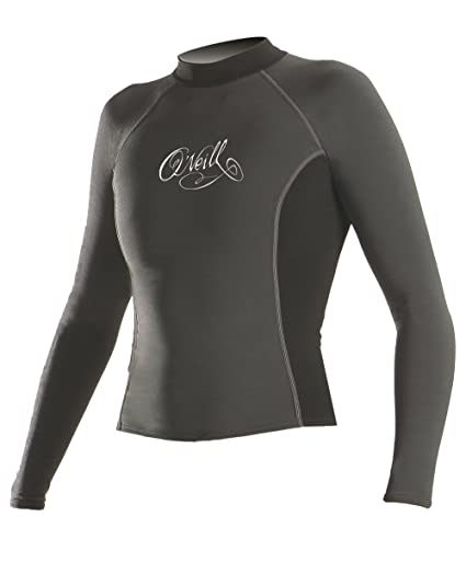 O'Neill Wetsuits UV Sun Protection Womens Thermo Long Sleeve Crew Sun Shirt  Rash Guard