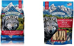 BLUE Wilderness Stix Grain Free Soft-Moist Dog Treats