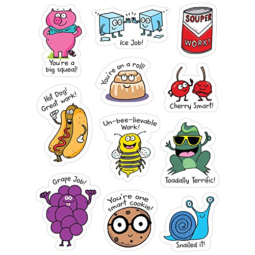 Creative Teaching Press So Much Pun! Punny Rewards Stickers (8453)