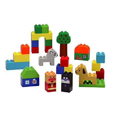 Block lab Anpanman The First time of The Block Bucket (First Block Series): Toys & Games