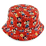 Disney Mickey Mouse Boys' Red Bucket Hat