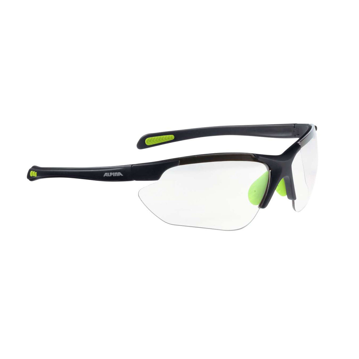 Alpina Amition Jalix Sonnenbrille, Green-Black, One Size