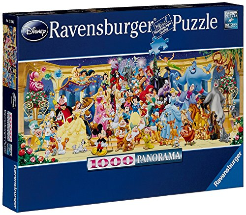 Professional Jigsaw - Walt Disney Masterpiece Panorama Puzzle 1000 Piece Professional Soft Click Jigsaw Ages 12+