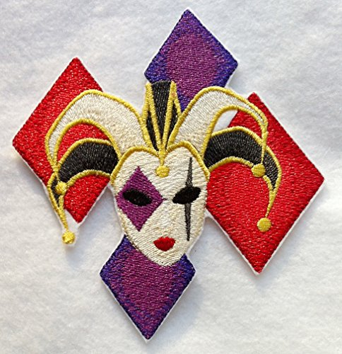 Custom and Unique Mardi Gras Festival Jester (Small 4.75