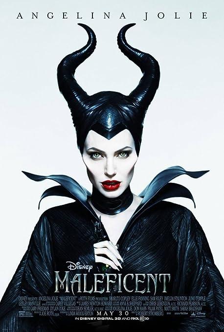 Amazon Com Maleficent Movie Poster 2 Sided Original 27x40