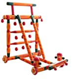 Wood Craft Budhani Wooden Activity Walker For Baby