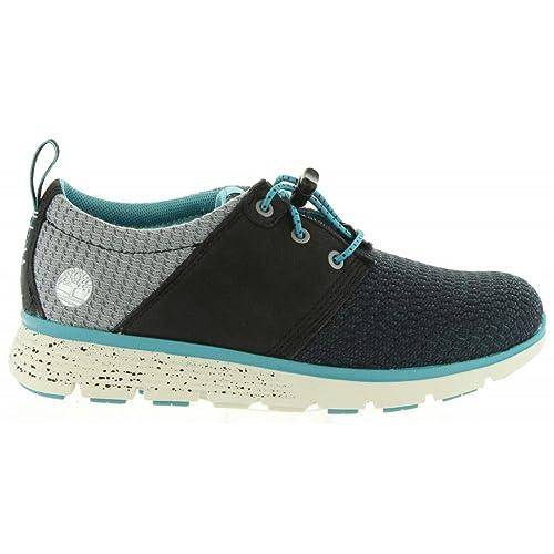 zapatillas de deporte de los zapatos oxford bebé cordones TIMBERLAND A12GX azul aguanieve de la juventud: Amazon.es: Zapatos y complementos