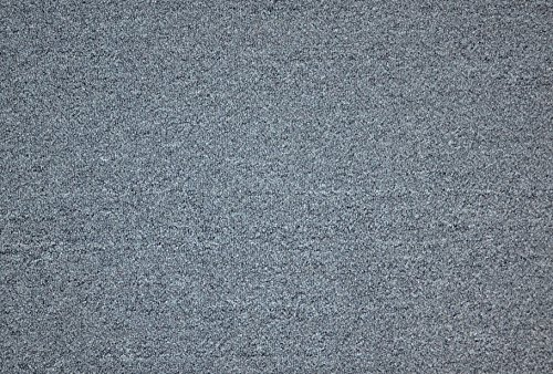 Dean Pet Friendly Non-Skid 2' x 3' Carpet Accent Rug/Anti-Fatigue Mat: Stingray Gray by Dean Flooring Company
