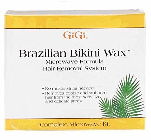 GiGi Brazilian Bikini Home Waxing Kit, Complete Hair Removal System best home waxing kit